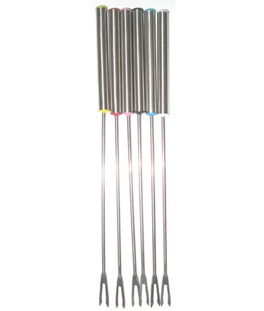 Le Cuistot Stainless Steel Fondue Forks - Set of 6