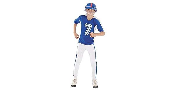 DISBACANAL Disfraz Jugador de Rugby niño - -, 8 años: Amazon.es ...