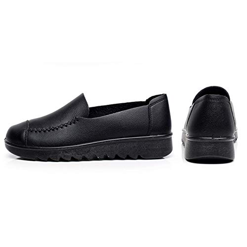 Chaussures en noir pour pour femmes en de de bureau travail synthétique Regbking cuir 8q0P8r