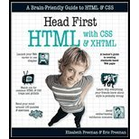 Head First HTML With CSS & XHTML (06) by Freeman, Eric T - Freeman, Elisabeth - Robson, Elisabeth [Paperback (2005)]