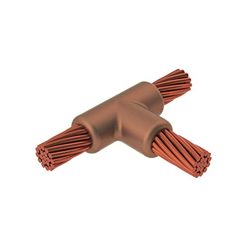 2//0 AWG Conductor ERICO CADWELD TAC2G2G Type TA Standard Weld Metal Mold Cable to Cable Graphite