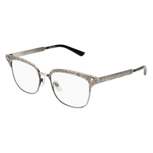 Eyeglasses Gucci GG 0221 O- 002 SILVER /