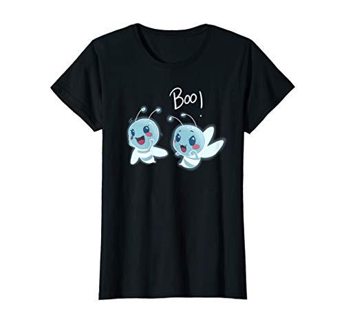 Womens Spooky Cute Boo Bees Halloween Wordpun