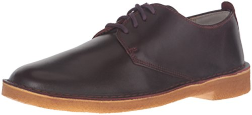 Clarks Men's Desert London Oxford, Nut Brown, 12 M US
