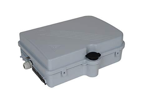 Bud Industries FBR-11611 16 Core Fiber Optic Distribution Box