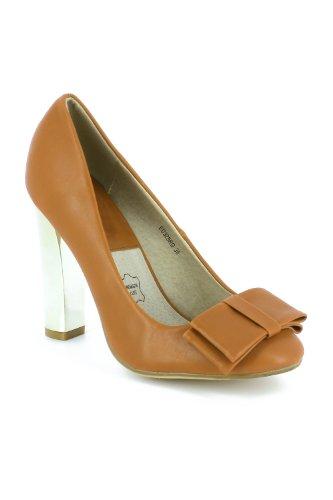 Go Tendance Women's Court Shoes Camel