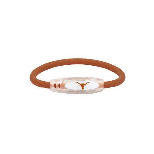 (NCAA Texas Longhorns Active Wristband, Orange, Small)