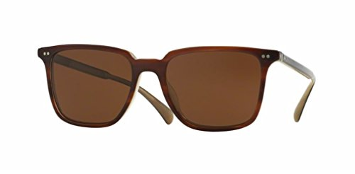 Oliver Peoples - Opll Sun - 5316 53 - Polarized Sunglasses (402, Java Polar - Vfx Polarized Peoples Oliver