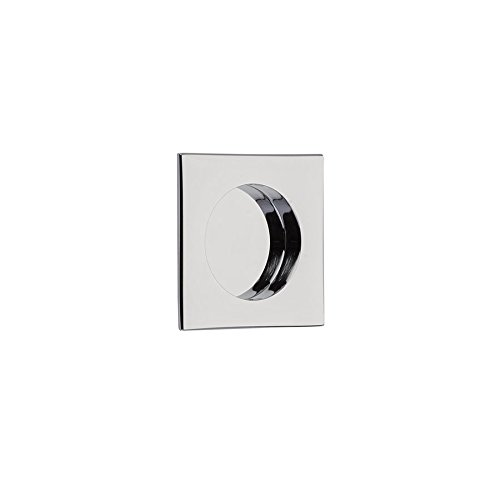 (Emtek Flush Pull 2213- Square 10 finish options (Polished Chrome (US26)))