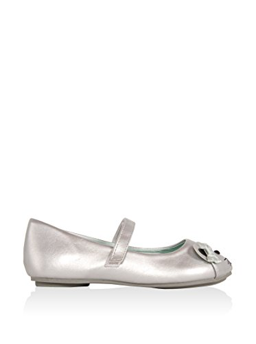 Ballerines pour Fille URBAN 149231-B4600 SILVER-LTBLUE