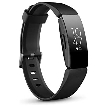Fitbit Inspire HR Heart Rate & Fitness Tracker, One Size (S & L bands included)