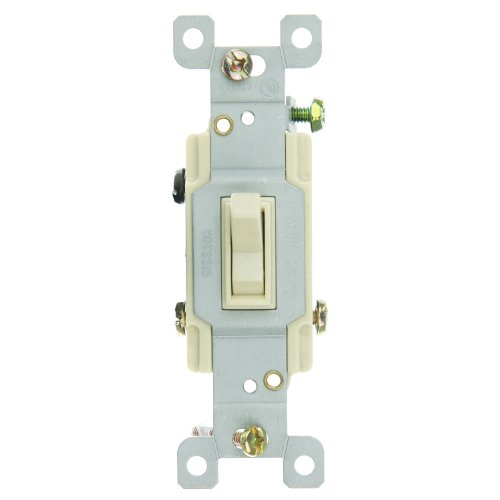 Sunlite 08115-SU E508 3 Way Grounded Toggle Switch, ()