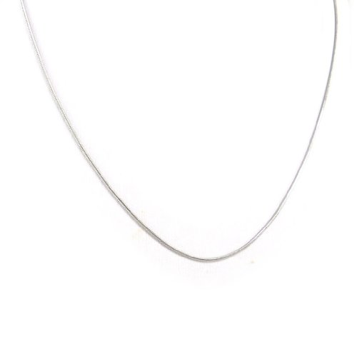 Les Trésors De Lily [K5915] - Chaîne Acier 'Serpent' 42 cm 1 mm