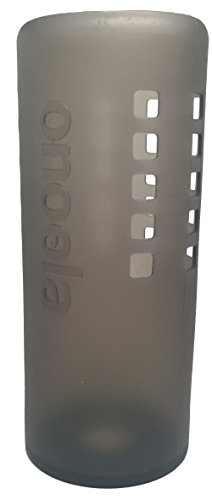 Onoola Silicone Sleeve for Hydro Flask Water Bottles (Translucent Black, 40oz)
