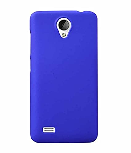 buy online fe9ee 5d122 COVERNEW Plastic Back Cover for vivo Y21L - Royal Blue: Amazon.in ...