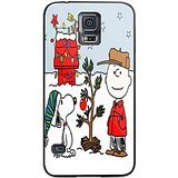 Charlie Brown and Snoopy Christmas Tree for Iphone and Samsung Galaxy Case (Samsung Galaxy S5 (Snoopy S5 Case)
