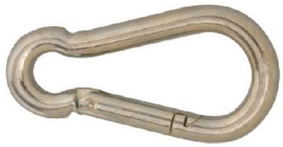 Apex Tools Group T7645006 Carabiner Spring Snap Link, 0.25-In. - Quantity 10 by Apex Tool Group