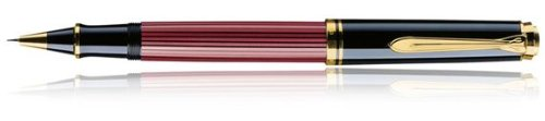 PELIKAN Souveran 400 Gt Rollerball Pen, Red/Black (905521) by Pelikan