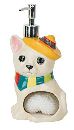 Chihuahua - Soap Pump & Scrubby Holder ()