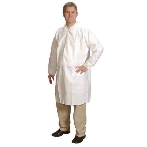 (Alpha Pro Tech LC-J2621-4 ComforTech Lab Coat, XL Size, White (Pack of 25) )