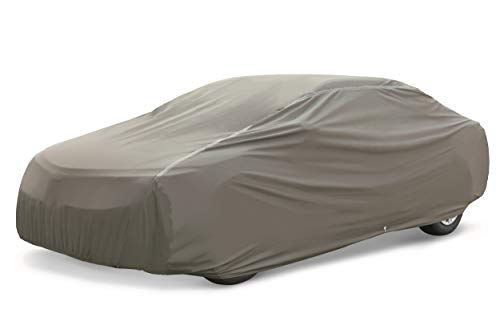 - AmazonBasics Premium Waterproof Car Cover, XXL Sedan