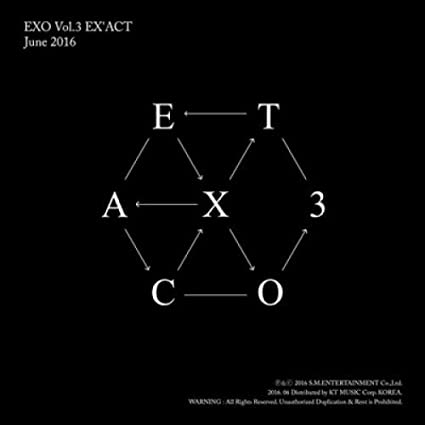 2CD+Poster+Gift,New : EXO LOTTO 3rd Album Repakage EX/'ACT KOREAN /& CHINESE ver