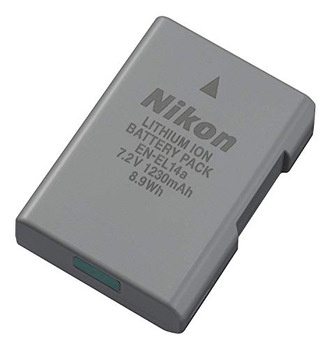Nikon EN-EL14A Rechargeable Li-Ion Battery for D5300 and Df Cameras