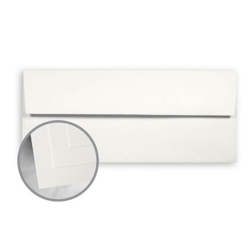 - CLASSIC CREST Avon Brilliant White Envelopes - No. 10 Square Flap (4 1/8 x 9 1/2) 70 lb Text Super Smooth 500 per Box