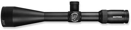 Nightforce Optics 5-20×56 SHV Riflescope, Matte Black with Illuminated MOAR Second Plane Reticle, 0.25 MOA, 30mm Tube Diameter, 3.14-3.54 Eye Relief, Zeroset Turrets