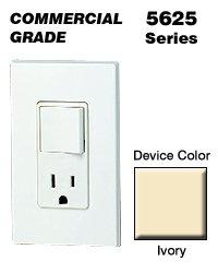 leviton i decora combo switch receptacle single pole r leviton 5625 i decora combo switch receptacle single pole 5 15r