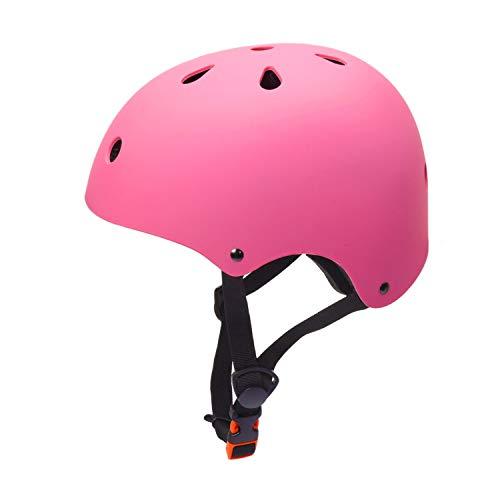 (Kids Bike Helmet Girls 5-8 Years Old Child Helmet CPSC Certified Impact Resistance Ventilation Adjustable Toddler Helmet (Pink, Small))