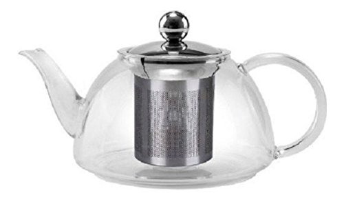 PREMIUM Heat resistant STOVE TOP SAFE Glass Kettle Tea Pot TEAPOTS 1200ml NEW!