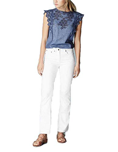 Boden Bootcut Trousers - BODEN White Bootcut Flare WC146 Jeans Trousers Pants Size US 14