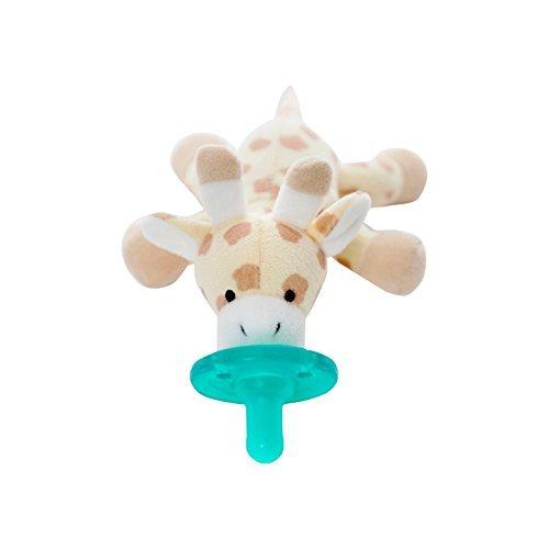 WubbaNub Giraffe Pacifier - Brown