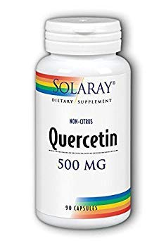 Quercetin 500mg Solaray 90 Caps (Pack of 2)