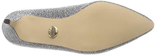 Elastic Donna silver Argento Buffalo Sterling 00 Stivaletti Fabric HU7x71q5