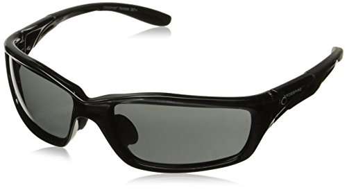Crossfire 241 Infinity Crystal Black Frame Safety Sunglasses with Smoke Lenses by Crossfire (Image #4)
