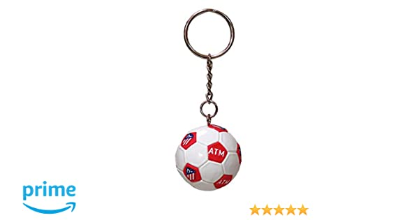 Atletico DE Madrid Llavero Mini Balon