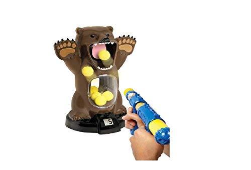 Black Series Hungry Bear Shooting Target Game 13030320042 (Sharper Image Hungry Bear Target Shooting Game)