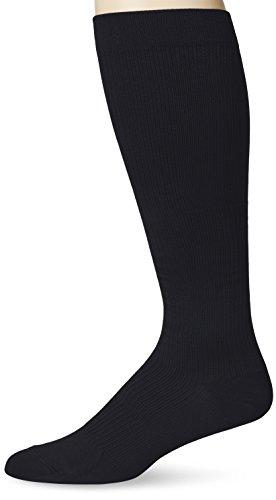 Dr. Scholl's Men's Microfiber Firm Support Socks, Black, Shoe: 12.5-14 - Microfiber Mens Shoes