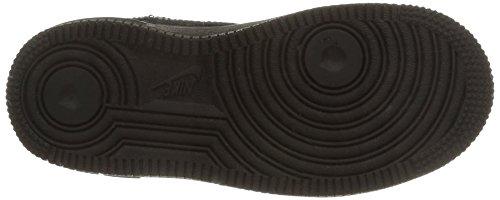 Nike Force 1 (PS), Zapatillas de Baloncesto Para Niños Negro (Black / Black / Black 009)