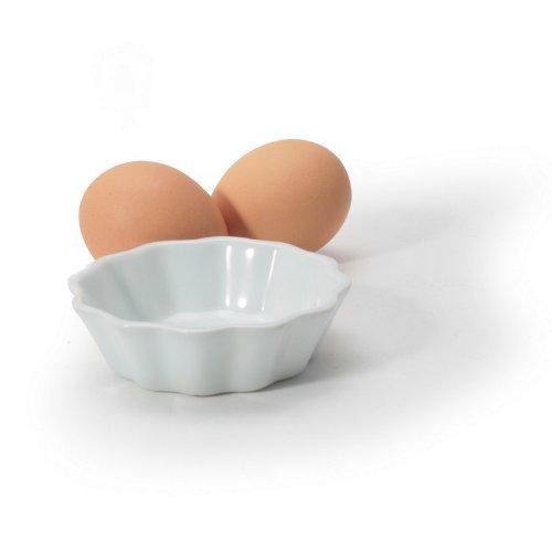 White Porcelain 3.5 inch Brioche Dish