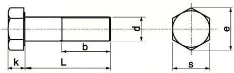 DIN 933 A2 M 8X25 Sechskantschraube Vollgewinde EDELSTAHL V2A A2 10 Stk