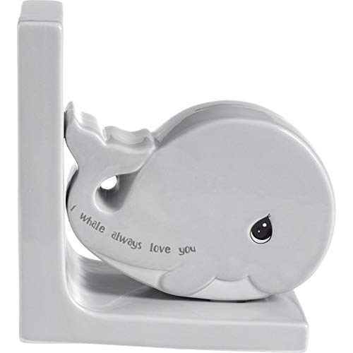 - Precious Moments I Whale Always Love You Whale Ceramic Bookend 189918