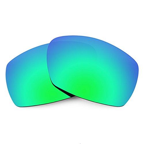 Verres de rechange pour Smith Dockside — Plusieurs options Polarisés Elite Rogue Vert MirrorShield®