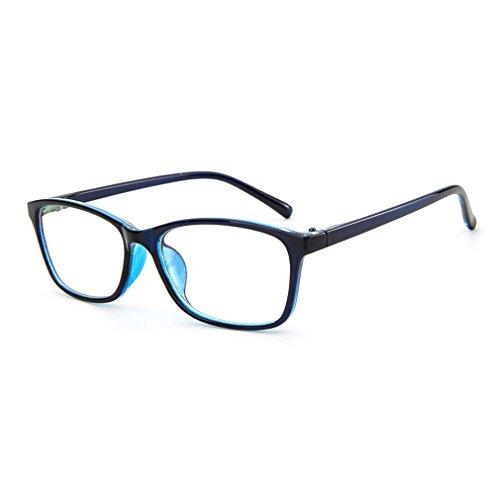 LOMOL Trendy Korean Design Student Style Transparent Lens Frame Glasses For - Sunglasses Korean Trend