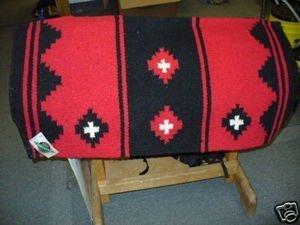Pad Show - Mayatex Mayatex Show Saddle Blanket Pad Red Black Horse