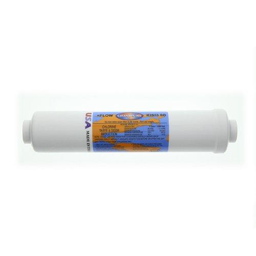 (Omnipure K2533BB Inline GAC Filter)