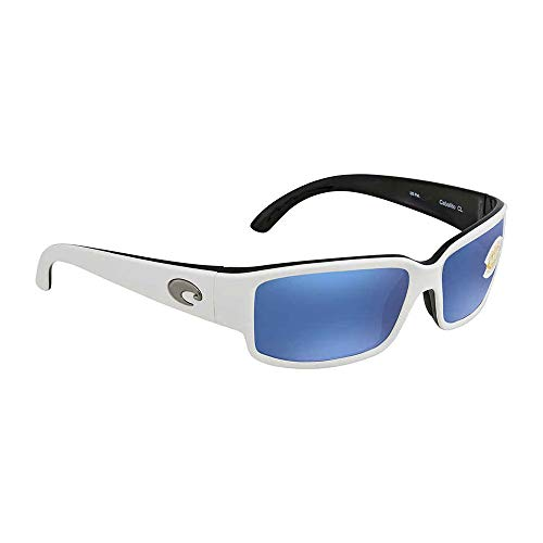ba6747da68 Costa del Mar Unisex-Adult Cabalitto CL 30 OBMP Polarized Iridium Wrap  Sunglasses