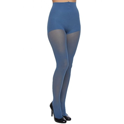 - DKNY Opaque Control Top Tights, Small, Rhapsody